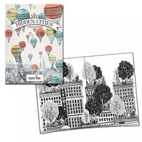 Hidden Cities Portable Coloring Book