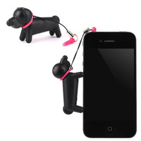 TOUCH DOG Labrador Retriever Touch Pen Earphone Jack Accessory (Pink)