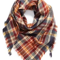 BP. 'Heritage Plaid' Triangle Scarf | Nordstrom