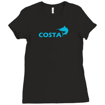 costa Ladies Fitted T-Shirt