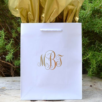 50 Personalized Monogrammed Hotel Welcome Bags