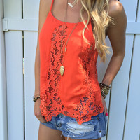 Charlotte Lace Top