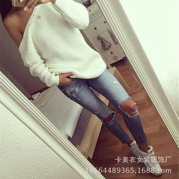 Women Cardigan Knit Sports Hoodies Long Sleeve Solid Top _ 11421