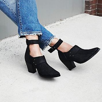 FP Collection Womens Avery Heel Boot