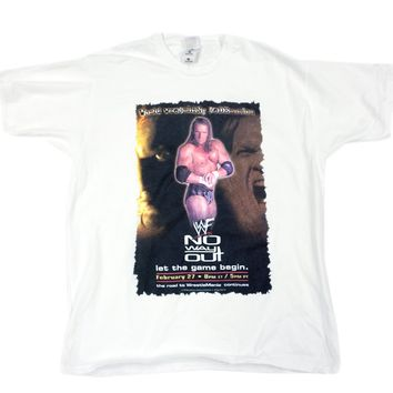 WWF NO WAY OUT 99 T-SHIRT XL