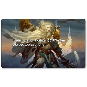 Many Playmat Choices Ajani Steadfast Mtg Board Game Mat Table Mat For Magical Mouse Mat The Gathering 60 X 35cm