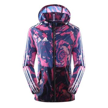adidas Originals Rita Ora Zipper Hooded Jacket One-nice™