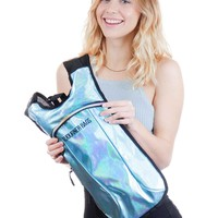 2 Liters Glitter Blue Hydration Backpack
