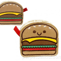 HAPPY HAMBURGER COIN BAG