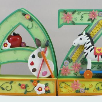 Mary Engelbreit A To Z Bookends-864099