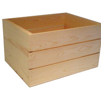 16-inch Wooden Crate
