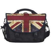 grunge union jack laptop bag from Zazzle.com