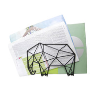 Elephant Geometry - Wall or Desk Letter Holder
