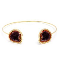 KIMBERLY MCDONALD | 18K Gold, Geode and Diamond Bracelet | Browns fashion & designer clothes & clothing
