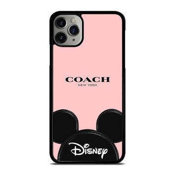 COACH NEW YORK DISNEY iPhone Case Cover