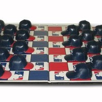 MLB Boston Red Sox Vs Yankees Rivalry Miniature Helmets Checker Set