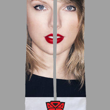 Taylor Swift - Custom Sublimated Socks - Socktimus Prime