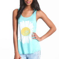 Daisy Racerback Tank Top - LoveCulture
