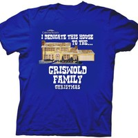 Christmas Vacation I Dedicate this House to the Griswold Family Xmas T-Shirt