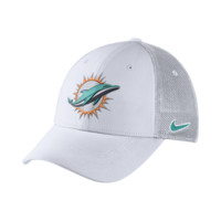 Nike Legacy Vapor Mesh Back (NFL Dolphins) Fitted Hat