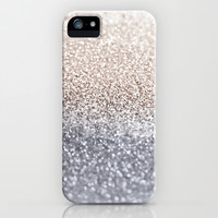 GATSBY SILVER iPhone & iPod Case by Monika Strigel