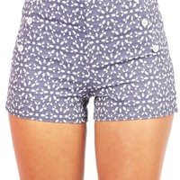 Flower Sailor Shorts - Sailor Shorts at Pinkice.com