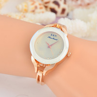 Hot Vintage Fashion Quartz Classic Diamond Bracelet Watch Women On Sales (With Thanksgiving&Christmas Gift Box)