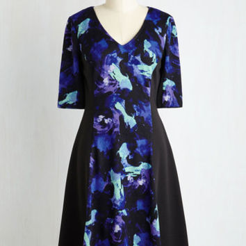 Mid-length 3 A-line Glowing Moments Dress