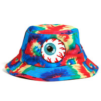 Keep Watch Tie-Dye Bucket Hat (Rainbow Tie-Dye)
