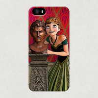 Anna Frozen Disney Animation Statue Bust iPhone 4 4s 5 5s 5c Samsung Galaxy S4 S3 Case