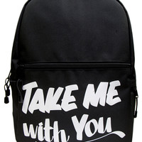 TAKE ME WITH YOU BACKPACK