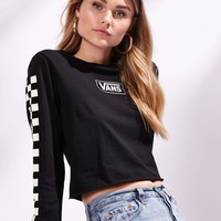 Vans Re-Boxed Long Sleeve Crop T-Shirt at PacSun.com