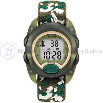 Timex Kid's Digital Nylon Strap Watch - Camoflauge