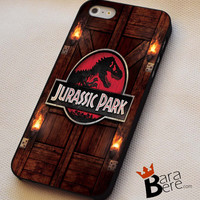 Jurassic Park logo iPhone 4s iphone 5 iphone 5s iphone 6 case, Samsung s3 samsung s4 samsung s5 note 3 note 4 case, iPod 4 5 Case