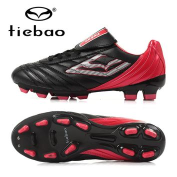 TIEBAO Professional Adults Soccer Shoes FG & HG Soles Football Shoes Outdoor Sports Soccer Cleats Athletic Trainers Sneakers