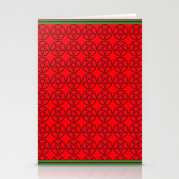Satanic Yule Stationery Cards by Kathead Tarot/David Rivera