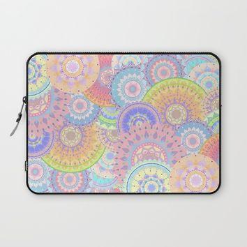 Pastelalas Laptop Sleeve by Sara Eshak
