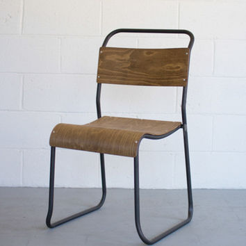 Schoolhouse Chair with Molded Plywood Seat