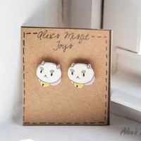 Bee and Puppycat - Puppycat Post Earrings