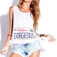California Gorgeous Muscle Tee