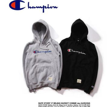 champion Men's Hoodie Sweatshirt wonem winter hip hop fdies Sweatshirtleece Hoos brand clothing kanye west