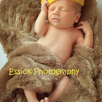 Gold baby crown crochet Newborn Photo Prop little brother big sister sibling gift toddler two sizes