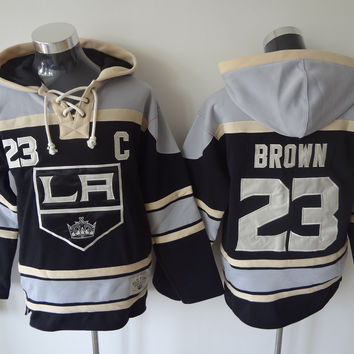 Los Angeles Kings - DUSTIN BROWN #23 Vintage NHL Sweatshirt