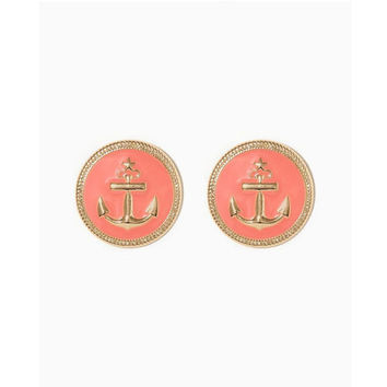 Large Nautical Stud Earrings