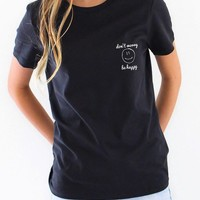Don't Worry Be Happy Relaxed Tee