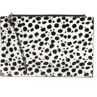 Chloé Cow Patterned Clutch