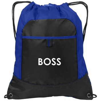 Boss Workout Towel | Trucker Hat | Drawstring Backpack