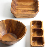 The Cellar Serveware, Acacia Wood Collection - Serveware - Dining & Entertaining - Macy's