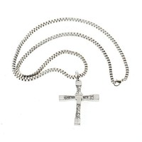 Men Cross Chain Necklace