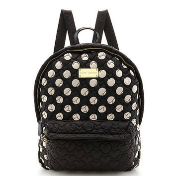 Betsey Johnson Tie The Knot Polka Dot Backpack | Dillards